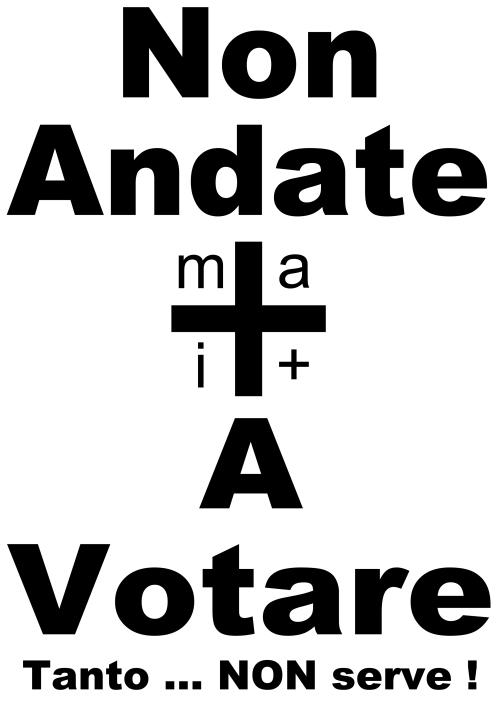 #Mai+ VOTO ... DEFINITIVO !