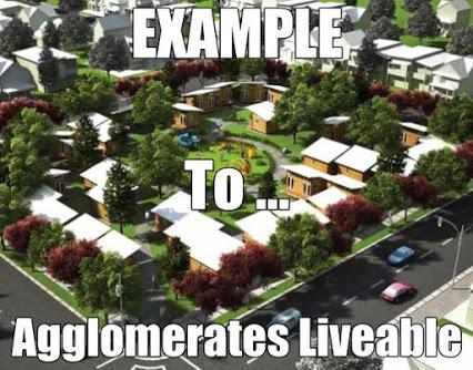 Agglomerates liveable